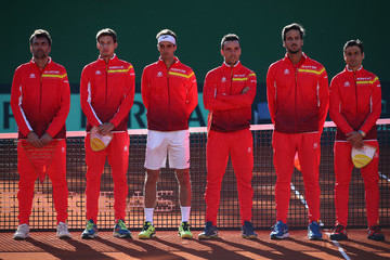 Sergi Bruguera Spain v Great Britain - Davis Cup by BNP Paribas World Group First Round - Day 1
