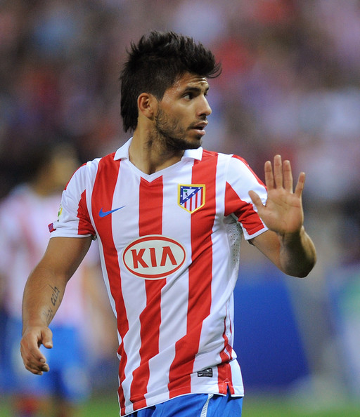 purchase cheap bb41a 9eda2 Sergio Aguero Photos Photos - Atletico Madrid v Real ...