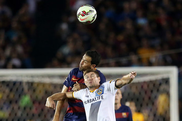 Sergio Busquets International Champions Cup 2015 - FC Barcelona v Los Angeles Galaxy