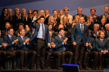Sergio Garcia Rory McIlroy 40th Ryder Cup Opening Ceremony