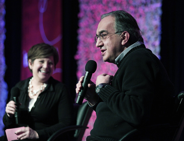 Chrysler Chairman Sergio Marchionne Speaks At Business Conference