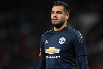 Sergio Romero Manchester United v Brighton & Hove Albion - The Emirates FA Cup Quarter Final