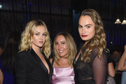 """(L-R) Ambyr Childers, Author Caroline Kepnes and Kathryn Gallagher attend the """"You"""" Series Premiere Celebration hosted by Lifetime on September 6, 2018 in New York City."""
