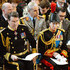 Sir Timothy Laurence Photos - (L-R) Vice Admiral Sir Timothy Laurence and Princess Anne, Princess Royal attend a Service of Commemoration for troops who were stationed in Afghanistan at St Paul's Cathedral on March 13, 2015 in London, England. - A Service of Commemoration for Troops in Afghanistan — Part 2