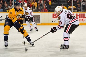 Seth Jones Chicago Blackhawks v Nashville Predators
