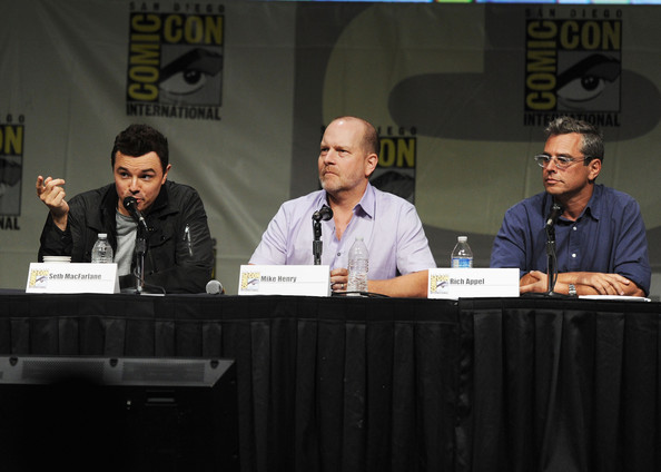 """""""The Cleveland Show"""" Panel - Comic-Con International 2012"""