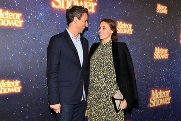 Seth Meyers Alexi Ashe 'Meteor Shower' Broadway Opening Night