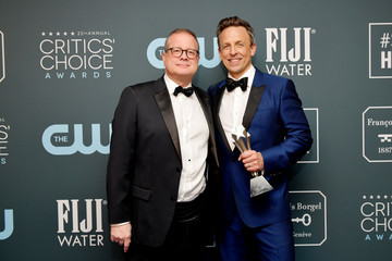 Seth Meyers Michael Shoemaker 25th Annual Critics' Choice Awards - Press Room