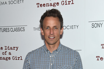 Seth Meyers Sony Pictures Classics with the Cinema Society Host a Screening of 'The Diary of a Teenage Girl'