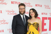 Seth Rogen and Lauren Miller attend Seth Rogen's Hilarity For Charity at Hollywood Palladium on March 24, 2018 in Los Angeles, California.