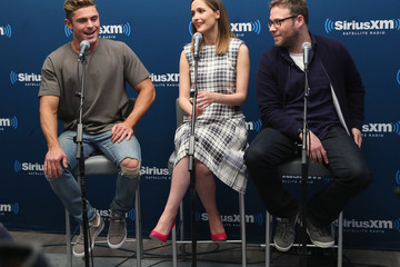 Seth Rogen Rose Byrne SiriusXM's 'Town Hall' With The Cast Of 'Neighbors 2'