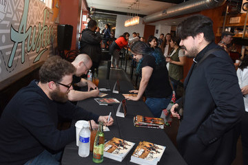 Seth Rogen AMC's 'PREACHER' Activation and Autograph Signing at SXSW With Seth Rogen, Garth Ennis, and Sam Catlin