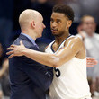 Chris Mack and Trevon Bluiett Photos