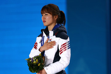 Seung-Hi Park Medal Ceremony - Winter Olympics Day 15