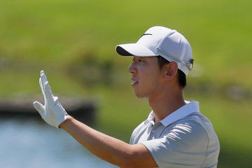 Seung-yul Noh Wyndham Championship - Round One