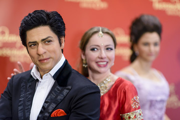 Shahrukh Khan Bollywood Wax Figures Unveiled in Berlin
