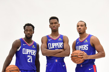 Shai Gilgeous-Alexander Los Angeles Clippers Media Day