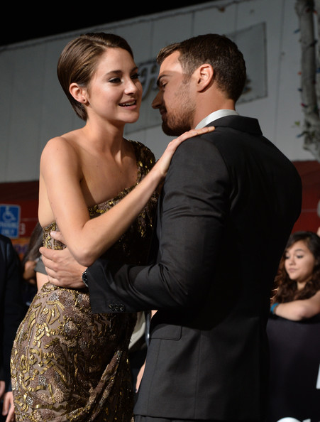 Theo James and Shailene Woodley played the lead characters of Four and ...