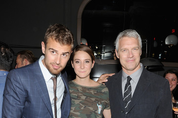 Shailene Woodley Theo James 'Divergent' Afterparty in NYC