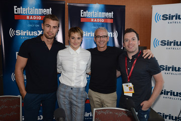 Shailene Woodley Theo James SiriusXM's Entertainment Weekly Radio Channel Broadcasts From Comic-Con 2014