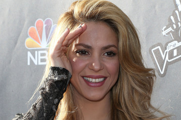 "Shakira NBC's ""The Voice"" Red Carpet Event"