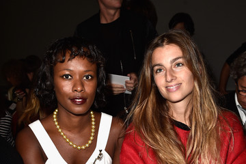 Shala Monroque Front Row at Giambattista Valli