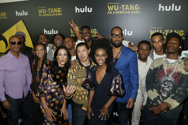 Hulu's 'Wu-Tang' Premiere And Reception [wu-tang: an american saga premiere,event,social group,youth,community,team,performance,crowd,party,crew,cast,hulu,new york city,wu-tang,metrograph,reception,premiere]