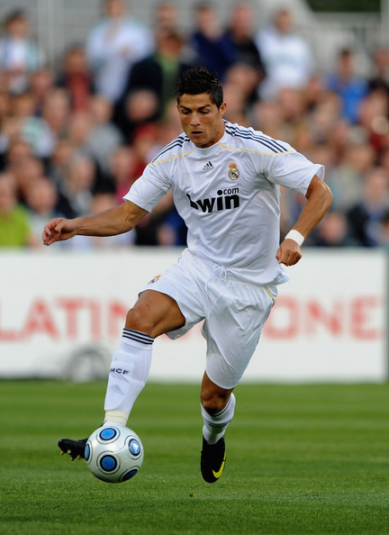 Cristiano Ronaldo Cristiano Ronaldo of Real Madrid in action during the Pre