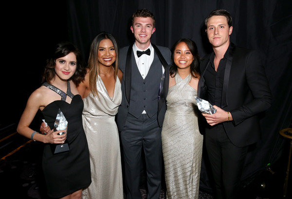 Thirst Project's 8th Annual Thirst Gala - Inside [event,formal wear,fashion,suit,dress,tuxedo,fun,smile,premiere,haute couture,honorees,laura marano,shane harper,erica wang,kristen de guzman,michael miller,thirst project,beverly hills hotel,thirst gala,thirst gala]