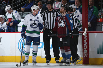 Shane Heyer Vancouver Canucks v Colorado Avalanche