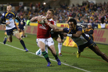 Shane Williams ACT Brumbies v British & Irish Lions