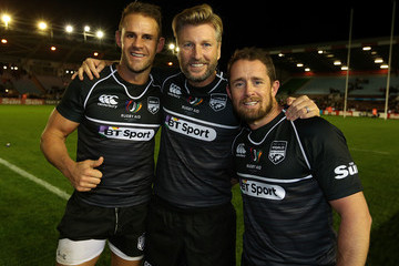 Shane Williams Rugby Aid 2015 Celebrity Rugby Match