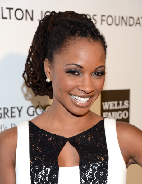 Shanola Hampton - 21st Annual Elton John AIDS Foundation Academy Awards Viewing Party - Red Carpet