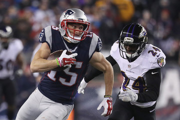 Shareece Wright Baltimore Ravens v New England Patriots