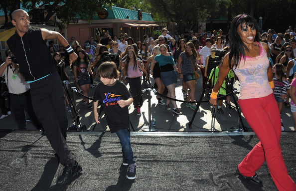 National Dance Day Celebration At Six Flags Magic Mountain