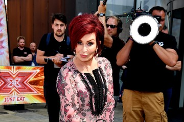 Sharon Osbourne 'X Factor' - Liverpool Auditions - Judges Photocall