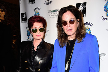 Sharon Osbourne VIP Opening Reception For 'Dis-Ease' - An Evening of Fine Art With Billy Morrison