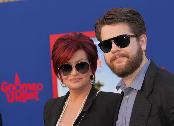 """Premiere Of Touchstone Pictures' """"Gnomeo And Juliet"""" - Arrivals [gnomeo and juliet,eyewear,sunglasses,hair,glasses,cool,vision care,hairstyle,fashion,photography,fun,arrivals,sharon osbourne,jack osbourne,el capitan theatre,california,touchstone pictures,l,premiere,premiere]"""