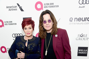 Sharon Osbourne Arrivals at the Elton John AIDS Foundation Oscars Viewing Party — Part 3