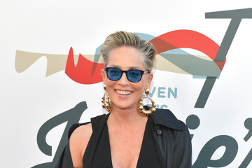 Sharon Stone Steven Tyler And Live Nation Presents Inaugural Gala Benefitting Janie's Fund - Arrivals
