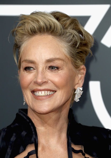 Sharon Stone Photos 75th Annual Golden Globe Awards