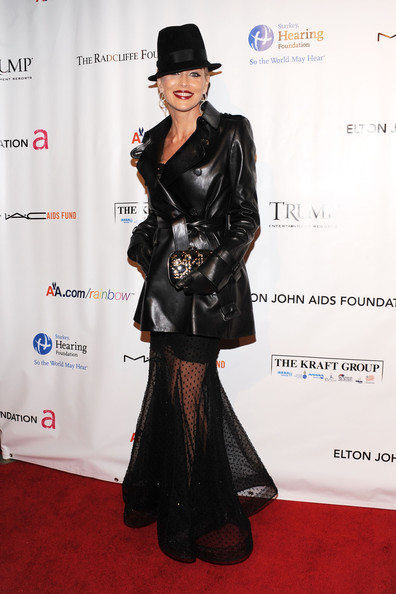 "8th Annual Elton John AIDS Foundation's ""An Enduring Vision"" - Arrivals [an enduring vision,flooring,fashion model,fashion,formal wear,carpet,suit,red carpet,fashion design,latex clothing,haute couture,arrivals,dress,party dress,sharon stone,wear,benefit,fashion,fashion,elton john aids foundation,dress,fashion,formal wear,clothing,party,new york fashion week,dress code,fashion week,party dress]"