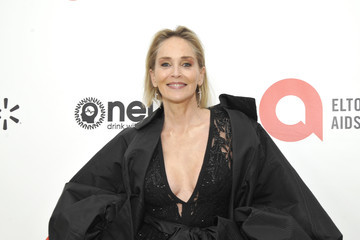 Sharon Stone Neuro Brands Presenting Sponsor At The Elton John AIDS Foundation's Academy Awards Viewing Party