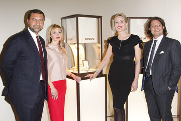 Guido Damiani Sharon Stone Presents Damiani New Collection