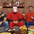 Shaun O'Hara Eli Manning and Frank's RedHot Host Virtual Tailgate