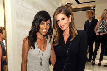 Shaun Robinson Jimmy Choo in Association With Cindy Crawford And Katharina Harf Host An Evening To Support Delete Blood Cancer