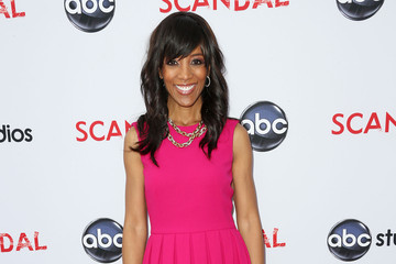Shaun Robinson Celebs Attend a 'Scandal' Event in Hollywood