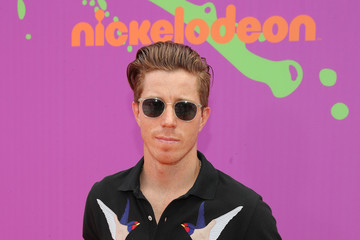 Shaun White Nickelodeon Kids' Choice Sports Awards 2017 - Red Carpet