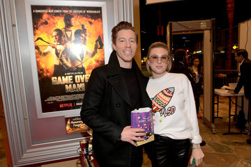 Shaun White The Premiere Of Netflix Film 'Game Over, Man!' At The Regency Village Westwood In Los Angeles