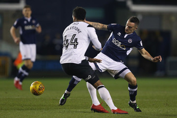 Shaun Williams Millwall v Derby County - Sky Bet Championship